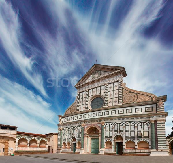 Santa Maria Novella church, Florence, Italy Stock photo © neirfy