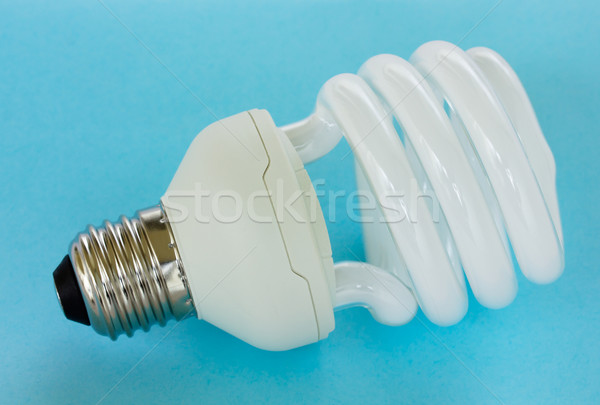 Modern lamba ampul enerji kompakt Stok fotoğraf © neirfy