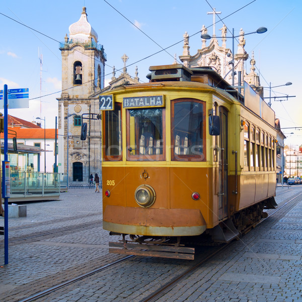 old tram of Porto, Portugal Stock photo © neirfy