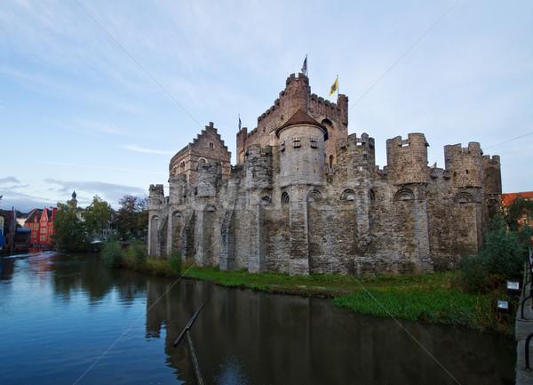 Gravensteen castle, Ghent Stock photo © neirfy
