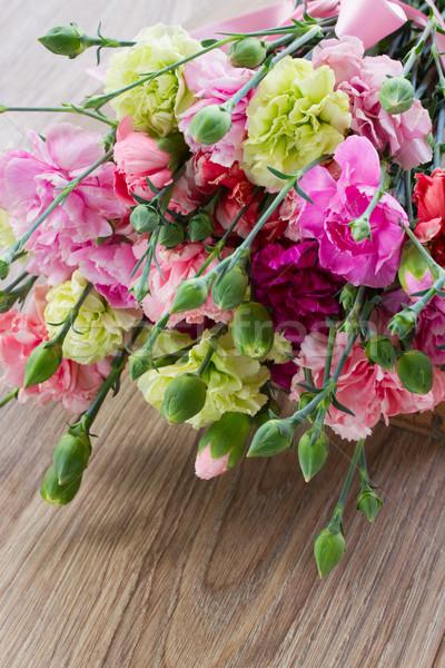 carnation flowers Stock photo © neirfy