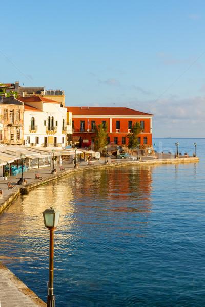 Venetian Grecia orasul vechi cer constructii natură Imagine de stoc © neirfy