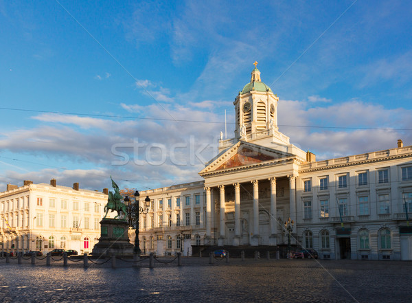 St Jacques Church, Brussels Stock photo © neirfy