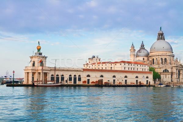 Basilica Santa Maria della Salute, Venice, Italy Stock photo © neirfy