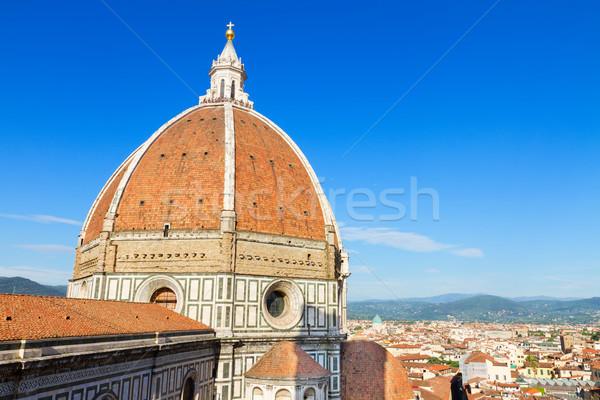 Stock photo: cathedral church Santa Maria del Fiore, Florence, Italy
