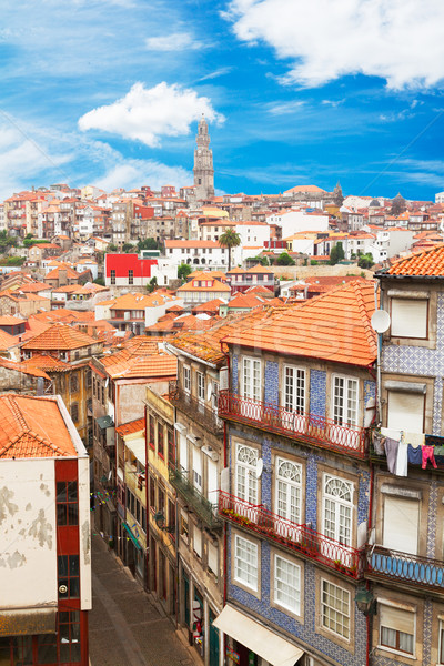 old houses in historic part of town, Porto Stock photo © neirfy