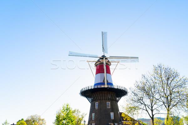 Windmill of Leiden Stock photo © neirfy