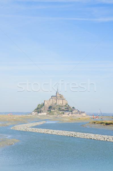 Mont Saint Michel,  Normandy, France Stock photo © neirfy
