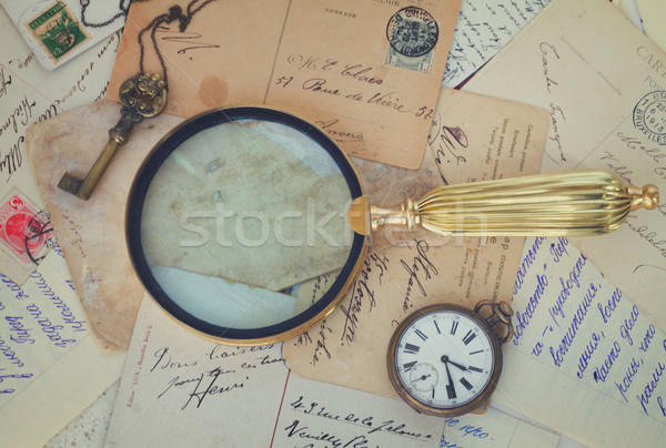 antiques vintage background Stock photo © neirfy