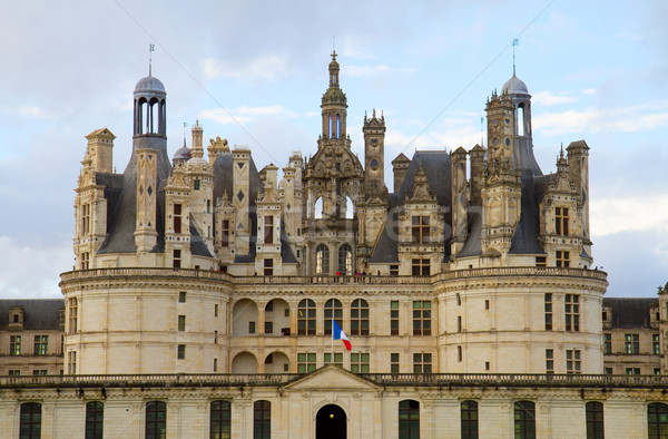 Chambord castle in France Stock photo © neirfy