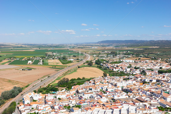 landscape of Andalusia, Spain Stock photo © neirfy