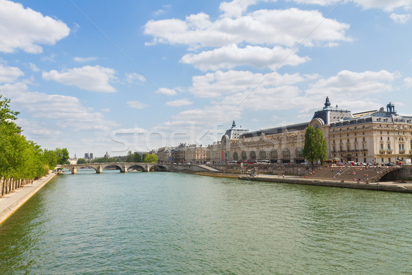 музее реке Франция Париж город искусства Сток-фото © neirfy