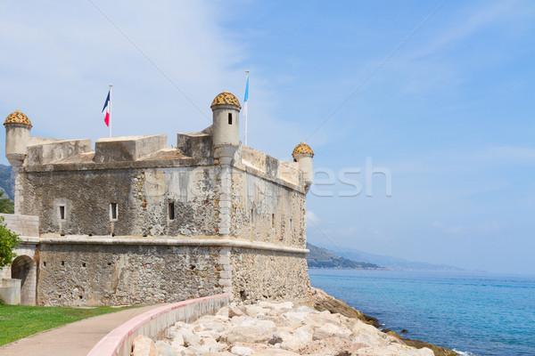 Menton, cote d Azur, France Stock photo © neirfy