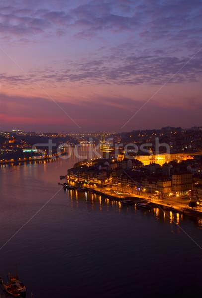 Porto and river Douro, Portugal Stock photo © neirfy