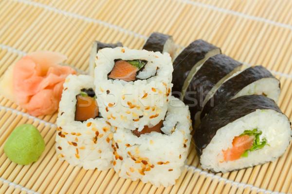 japaneese roll Stock photo © neirfy
