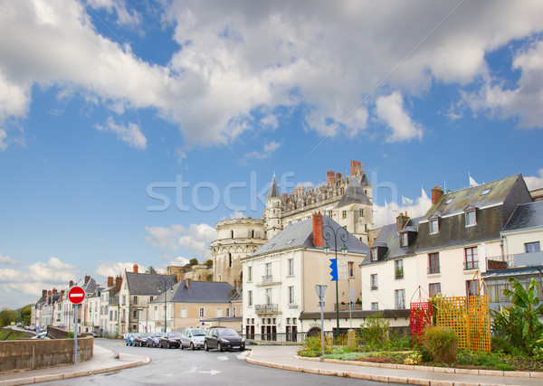 street in Amboise, France Stock photo © neirfy