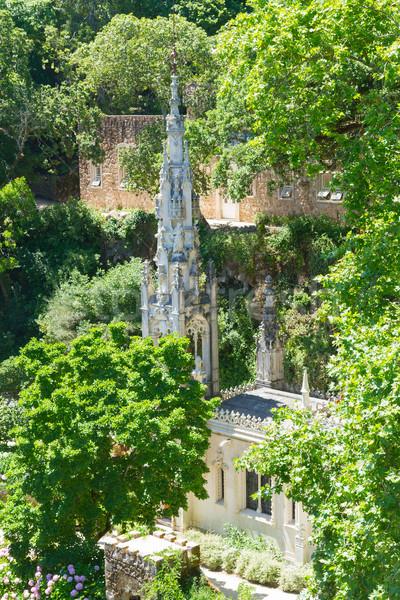 Quinta Regaleira, Sintra, Portugal Stock photo © neirfy
