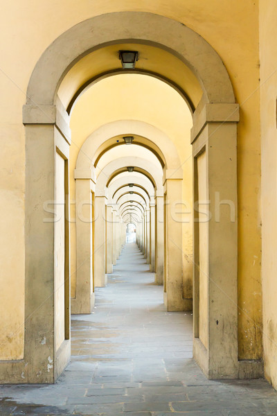 Stok fotoğraf: Köprü · Floransa · İtalya · dünya · taş · kültür