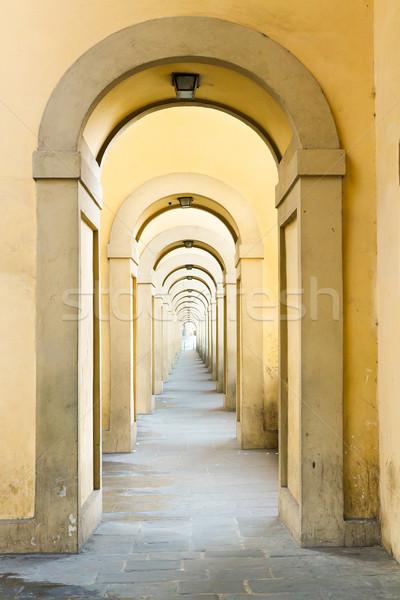 Pont FLORENCE Italie monde pierre culture Photo stock © neirfy