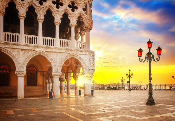 Doge palace, Venice, Italy Stock photo © neirfy