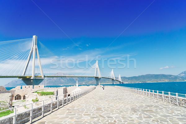 мнение Рио моста замок стены известный Сток-фото © neirfy