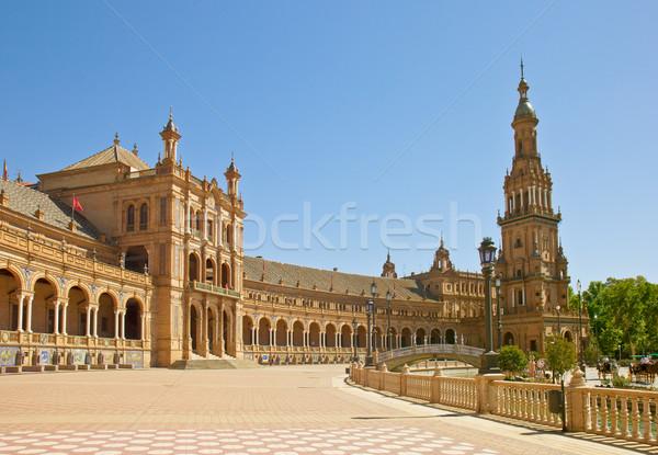 Plaza de Espana in  Sevilla, Spain Stock photo © neirfy