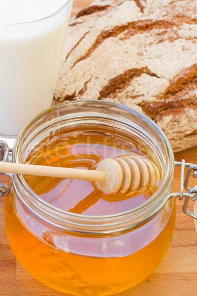 dripping honey Stock photo © neirfy