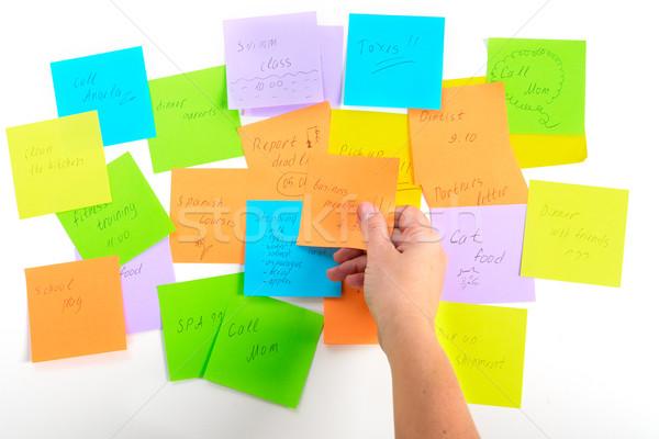 To do lists Stock photo © neirfy