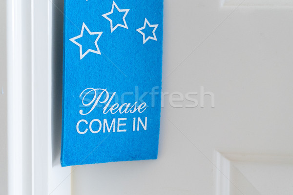 Please come in tag Stock photo © neirfy