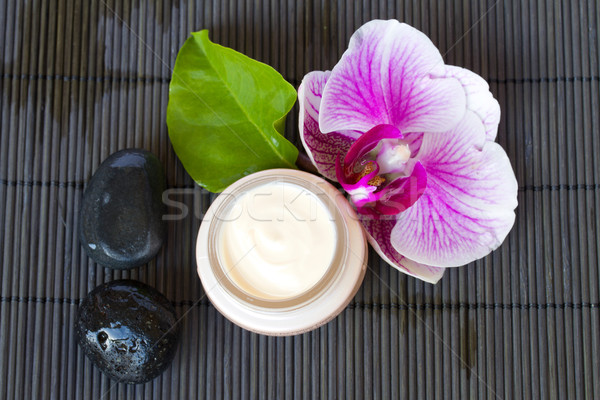 orchid flower spa set Stock photo © neirfy