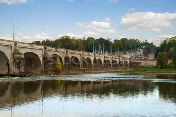 Pont Wilson, Tours, France Stock photo © neirfy