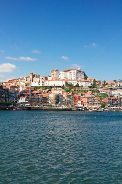 Colina cidade velha Portugal velho histórico cidade Foto stock © neirfy