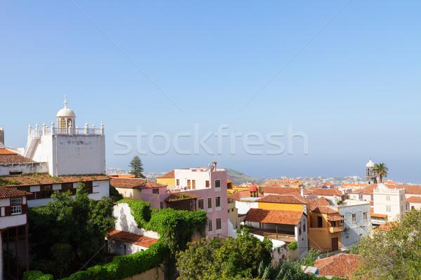 cityscape of Orotava, Tenerife, Spain Stock photo © neirfy