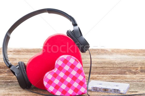 Romantic music concept  Stock photo © neirfy