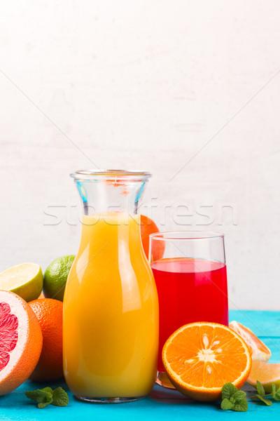 Citrus juices Stock photo © neirfy