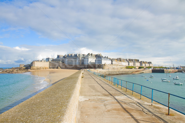 old town of  Saint Malo, Brittany, France Stock photo © neirfy