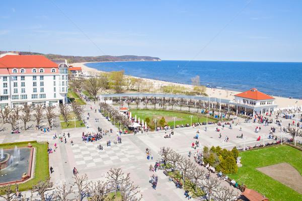 Sopot and Baltic sea coast Stock photo © neirfy