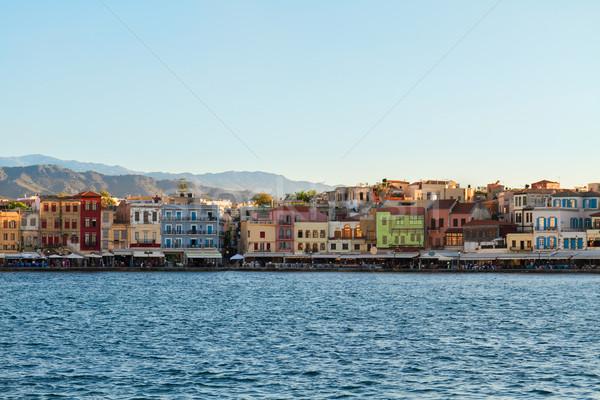 Velencei Görögország napos nyár nap égbolt Stock fotó © neirfy