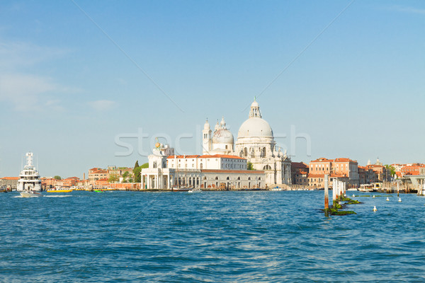 Basilique Venise Italie ciel maison Photo stock © neirfy