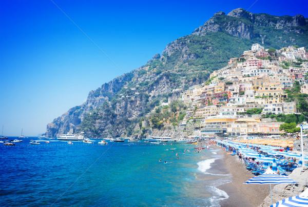 Resort Italia mar playa famoso edad Foto stock © neirfy