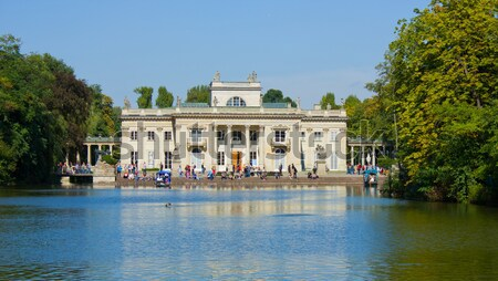 royal palace in Lazenki, Warsaw, Poland Stock photo © neirfy