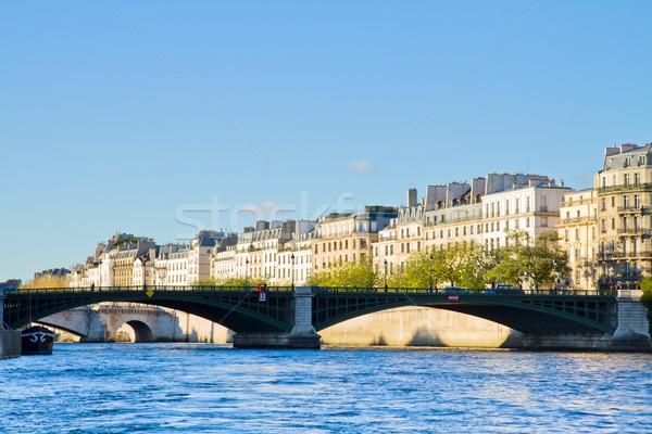 Pont Notre-Dame, Paris, France Stock photo © neirfy