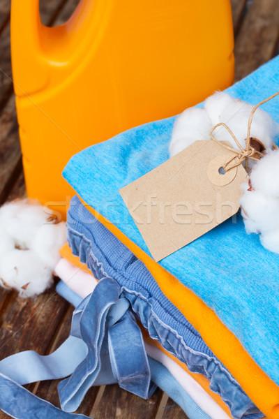 cotton clothes Stock photo © neirfy