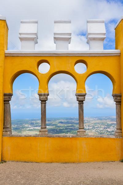 Palacio Pena, Sintra, Portugal Stock photo © neirfy