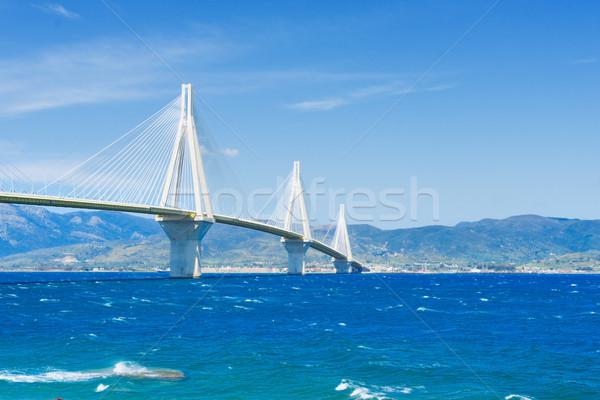 мнение Рио моста Средиземное море морем воды Сток-фото © neirfy