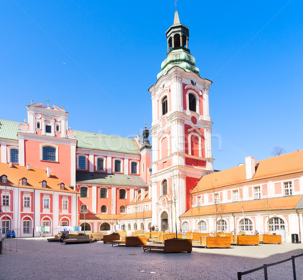 Lesser Basilica of St. Stanislaus Stock photo © neirfy