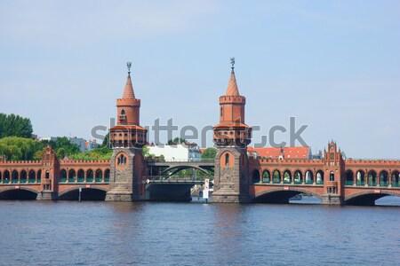 ベルリン ポスト 西 ドイツ 建物 橋 ストックフォト © neirfy