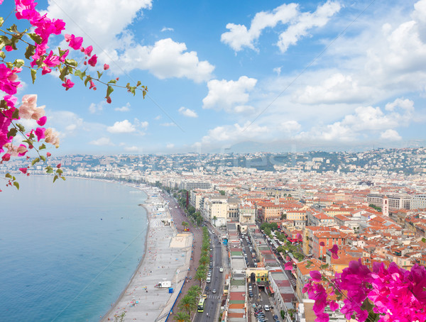 cityscape of Nice, France Stock photo © neirfy