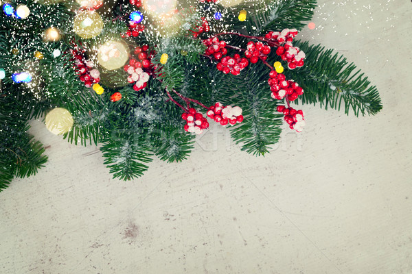 red and white christmas Stock photo © neirfy