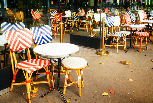 Monmartre cafe, Paris, France Stock photo © neirfy